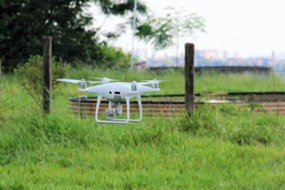 uso de drone na pulverizacao
