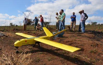 uso de drones para georreferenciamento pelo incra