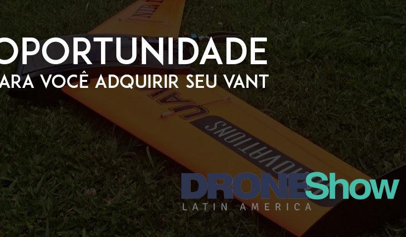 Promoção por tempo limitado para adquirir seu Drone InnovationsUAV NIR I
